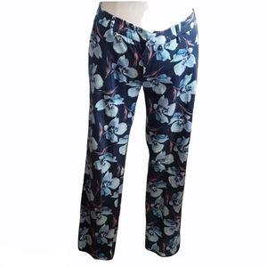 Zara Woman floral design Pants Size S